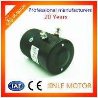 Wholesale MD12160 12V 1.6KW Black Hydraulic DC Motor With 100% Copper Wire from china suppliers