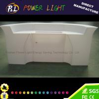 Quality Event Party Bar Furniture Color Changing LED Palstic Bar Counter for sale
