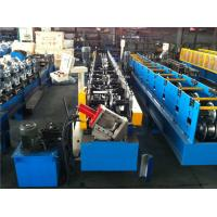 Wholesale Guide Pillar Metal Sheet Forming Machine , Purlin Roll Forming Machine By Chain from china suppliers