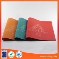 Wholesale table Mats Coasters for dining room placemat in textilene mesh fabrics from china suppliers