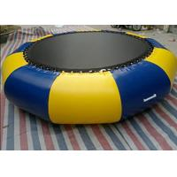 Wholesale Outdoor 0.9mm Pvc Tarpaulin Inflatable Watertrampoline For Water Sports Game from china suppliers