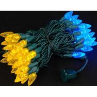 Wholesale Orange and Blue 70 LED C6 Strawberry Mini Lights Commercial Grade from china suppliers