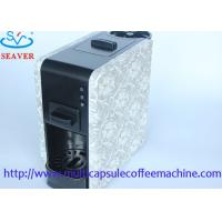 Wholesale Blue / Black ESE Coffee Pod Machines With Adjustable Coffee Mouth / Nozzle / Tap from china suppliers