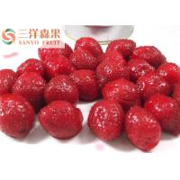 Quality Tropical Canned Strawberries Fruit In Syrup for sale