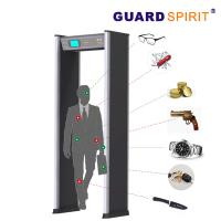 Wholesale 24 Zones Self Diagnostic Metal Walk Through Gate With 21 Application Occasions from china suppliers