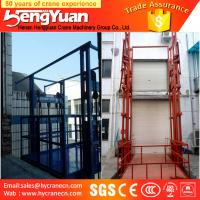 Wholesale Chinese economic guide rail chain cargo elevator from china suppliers