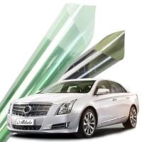 Wholesale High quality 2ply SRC plastic auto metal window tinting film in 1.52*30m from china suppliers