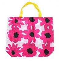 Wholesale nylon shopping tote bag with beautiful printing from china suppliers
