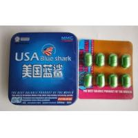 Wholesale Blue Shark Male Sexual Enhancement Pill / Natural Sex Medicine For Bigger Penis from china suppliers