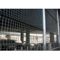 Wholesale Square, Diamond PE Coated / Galvanized Wire Mesh Fences For Stadium Prevention from china suppliers