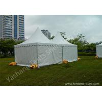 Wholesale Fabric Cover and Aluminum Framed high peak marquees Setting up n the Grassland from china suppliers