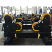 Wholesale 10 Ton Vessel Welding Turning Rolls , Self-Aligned Type PU Wheels For Piping from china suppliers