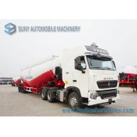 Wholesale White Durable Heavy Duty Dry Bulk Tank Trailer High Capacity from china suppliers