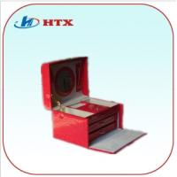 Wholesale Competitive Price Wood Jewelry Box with PU and Velvet from china suppliers