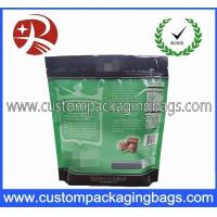 Wholesale Green Heat Seal Aluminium Stand Up Pouches With Degassing Valve from china suppliers