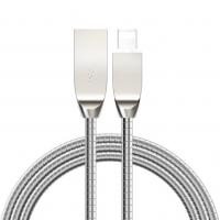 Wholesale Stainless Steel Charging Cable Zinc Alloy Housing Data Charger usb cable for smartphone from china suppliers