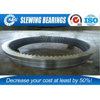 Wholesale Military Products Cross Roller Bearing , Single Row Large Diameter Bearings from china suppliers