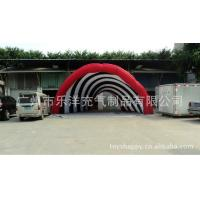 Wholesale Casual Celebration Lighting Giant Inflatable Party Tent Red , Inflatable Yard Tent Factory from china suppliers