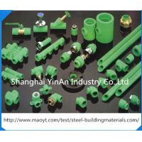 Wholesale Plastic Brass Inserts PPR Pipe Fittings Threaded Unequal Tee / PPR Piping System from china suppliers