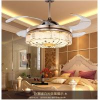 Wholesale 8000K 42 Inch Ceiling Fan With Led Light / 1060mm Crystal Led Fan Lights from china suppliers