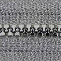 Wholesale Plastic open end zipper with silver tape and silver teeth from china suppliers