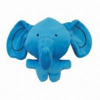 Wholesale Elephant pet fleece toy for dog, ODM and OEM orders are welcome from china suppliers