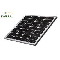 Quality 30W 40W Mono Monocrystalline Residential Solar Power Panels For Home , 715V 8A for sale