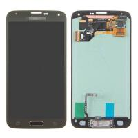 Wholesale For Samsung Galaxy S5 SM-G900/G900A/G900V/G900P/G900R4 LCD and Digitizer Assembly with Home Button - Gold - Grade A+ from china suppliers