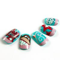 Wholesale Magical Bobby Jack Cartoon Fake Nails Kids Finger 3D Lovely Artificial Nail from china suppliers