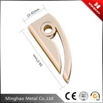 Light gold metal bag strap buckle,zinc alloy bag accessories metal buckle