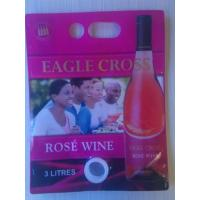 Wholesale Laminated 4 Layer 3 Litres Rose Wine Pouch Bib Bag / Juice Bag In Box from china suppliers
