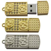 Wholesale custom unique Jewelry USB Flash memory Drive 128MB, 256MB, 512MB from china suppliers