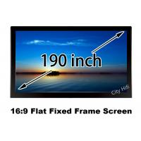 "Wholesale Large Home Cinema Projection Screen 190"" Diagonal 4206 x 2366mm Viewable from china suppliers"