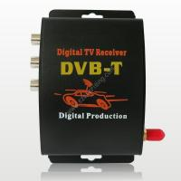 Wholesale Car Digital DVBT MPEG-4 TV receiver DVBT TV Tuner TOP Box from china suppliers