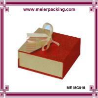 Wholesale Megnetic closure jewelry gift box/Custom earring/ring/necklace paper packaging box ME-MG019 from china suppliers