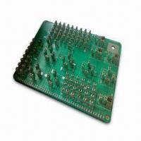 Wholesale PCB with Four-layered, 1.6mm Thickness and 1oz Copper Thickness, RoHS Certified from china suppliers