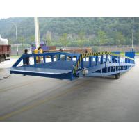 Wholesale DCQY 10 - 0.8 Hydraulic Dock Leveler Equipment with Rated Load 10t from china suppliers