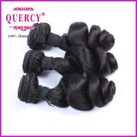 Quality Soft Human Hair Loose Wave 100% Unprocessed Virgin Indian Hair Weaving for sale