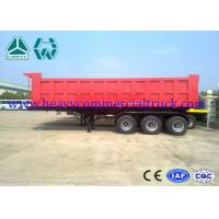 Wholesale Carbon Steel Square Tipper Semi Trailer Less Weight Manual Transmission from china suppliers