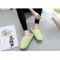 Wholesale Comfortable Winter Comfortable House Slippers Warm Suede Fabric Plain Upper from china suppliers