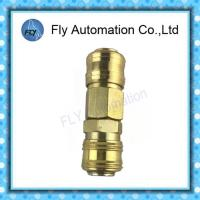 Wholesale RECTUS Series 91KA Couplings 20SM 20SF 30SF 30SM Brass Pneumatic Fittings from china suppliers