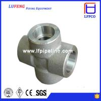 Wholesale 3000 LBS Carbon Steel Forged Pipe Fitting Socket Weld Cross from china suppliers