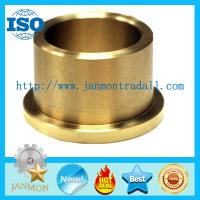 Wholesale Oil Impregnated Bronze Bushings,Flanged type brass bush,Flange brass bushes,Flanged bush,Flange copper bush,Brass bushes from china suppliers