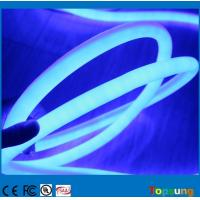 Wholesale 360 led neon flex SMD luces de neon led strip 24v waterproof outdoor decoration rope blue color 220v from china suppliers