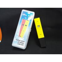 Wholesale China Cheepest waterproof PH temp meter pen type of PH with ATC from china suppliers