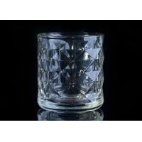 Wholesale Embossed Glass Candle Holder tea light candle holders For Home Decoration from china suppliers