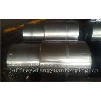 Wholesale 42CrMo4 SCM440 AISI 4140 Alloy Steel Forged Shaft Blanks Quenching And Tempering Rough Machining from china suppliers
