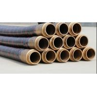 Quality 85 Bar Working Pressure Concrete Rubber Hose / Concrete Pump Natural Rubber Hose for sale