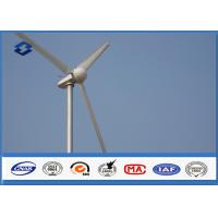 Wholesale Anti - corrosive Round wind generator pole with Hot Roll Steel Q235 / Q345 from china suppliers