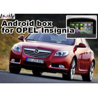 Wholesale Android 4.4 5.1 Car Navigation Box For Opel Vauxhall Insignia Buick Regal video interface from china suppliers